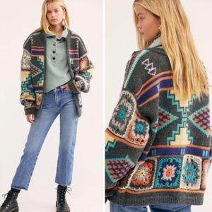 NWT Free People Santa Rosa Cardigan Sweater M/L